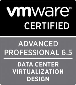 VCAP DCV 6.5 Design
