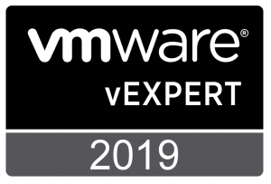vExpert 2019 Announcement